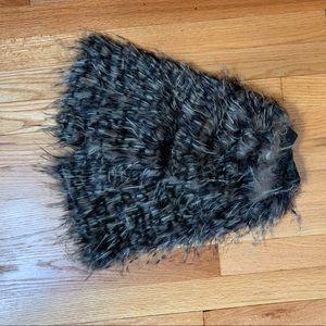 *Clearance* Leg Warmers Faux Fur pair animal print
